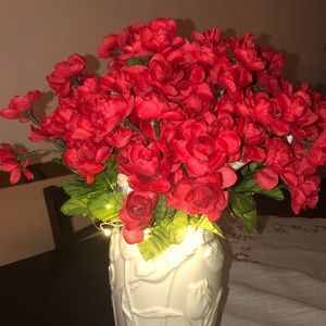 16 bunches small artificial rose bouquet